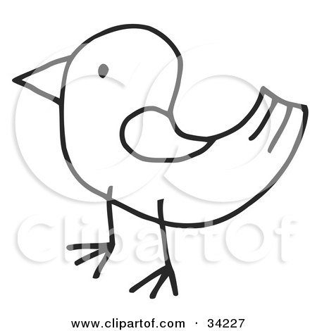 Royalty Free Illustrations of Birds by C Charley-Franzwa #1