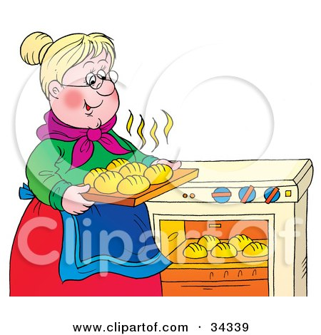 Royalty-Free (RF) Baking Clipart, Illustrations, Vector ...