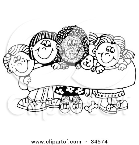 friends holding hands coloring pages - photo#40