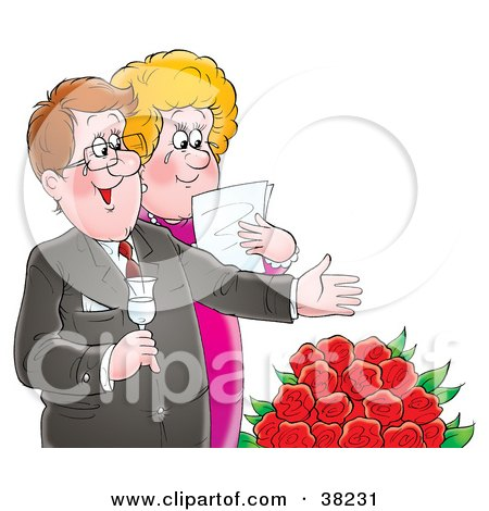38231 Clipart Illustration Of A Happy Mature Couple Shedding Tears Over Red Roses Whole Cats: Cats with intact reproductive organs, who are capable of ...