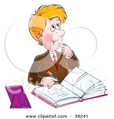 Royalty Free Rf Guest Book Clipart Illustrations