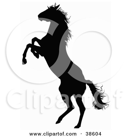 black silhouette of a rearing horse posters  art prints by i love you clip art free sign language i love you clip art animated