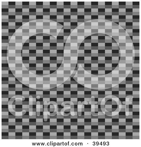 Clipart Illustration of a Carbon Fiber Background Showing The Weaved Materials by Arena Creative