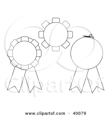 First Place Ribbon Coloring Pages Pictures to Pin on ...