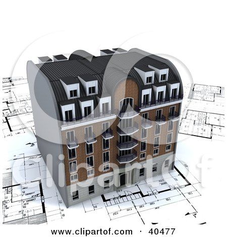 Gold investment property apartment building icon posters Printing architectural drawings