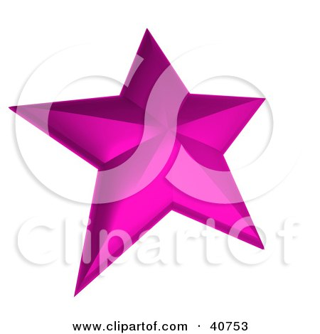 Nautical Star Tattoo Pink