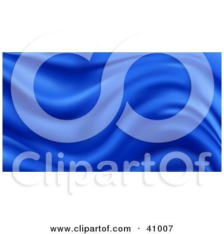 Clipart Illustration of a Wavy Silk Background by Tonis Pan