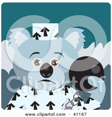 Koala Bear Prisoner Character Posters, Art Prints