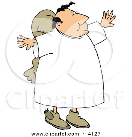 Religious Angel Clipart by djart