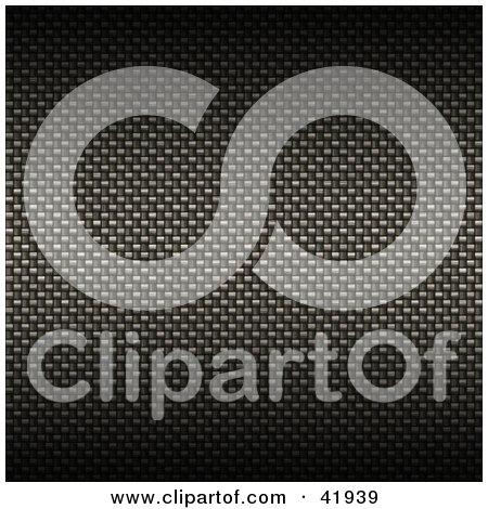 Clipart Illustration of a Dark and Gradient Carbon Fiber Background by Arena Creative