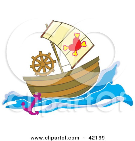 Royalty-Free (RF) Pirate Ship Clipart, Illustrations, Vector ...