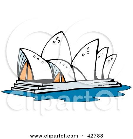 Opera House Cartoon The Sydney Opera House in