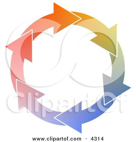 Circle of Arrows Clipart by djart