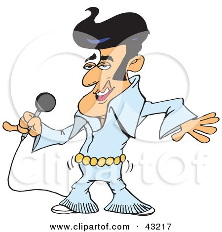 Clip Art Elvis Clipart royalty free rf elvis presley clipart illustrations vector preview clipart