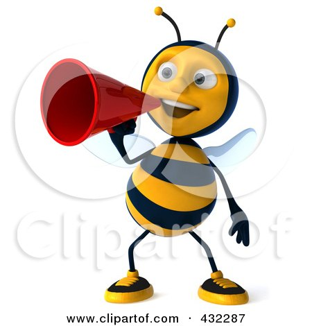 Royalty-Free (RF) Bumble Bee Clipart, Illustrations ...