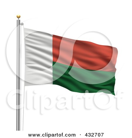 Royalty-Free (RF) Flag Of Madagascar Clipart, Illustrations ...