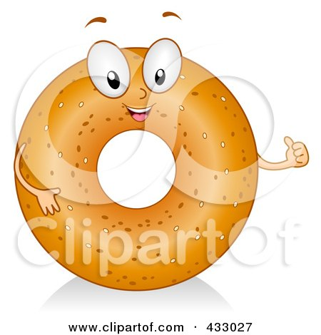 Clip Art Bagel Clipart royalty free rf bagel clipart illustrations vector graphics 1 preview clipart