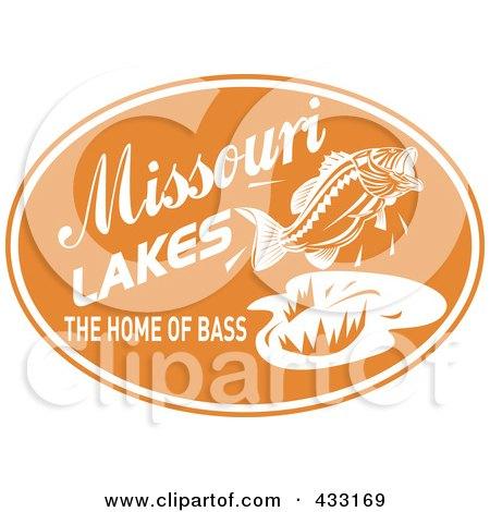 royalty free  rf  bass fishing clipart  illustrations Largemouth Bass Fish Clip Art Big Bass Clip Art