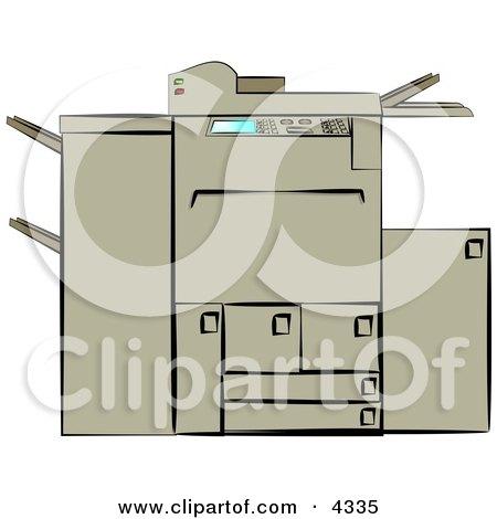 Photocopying Machine - Copy Machine - Technology Posters, Art Prints