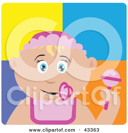 Royalty-Free (RF) Rattle Clipart, Illustrations, Vector Graphics #1