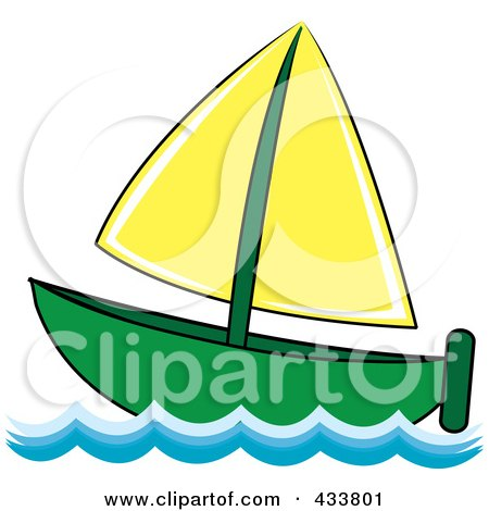Royalty Free Stock Illustrations of Sailboats by Pams ...