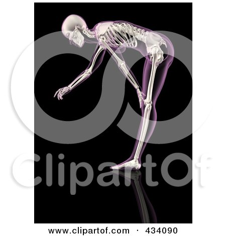 Royalty Free Rf Bending Over Clipart Illustrations