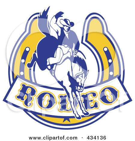 Royalty-Free (RF) Rodeo Logo Clipart, Illustrations, Vector ...