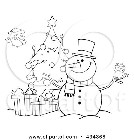 broom tree coloring pages - photo#49