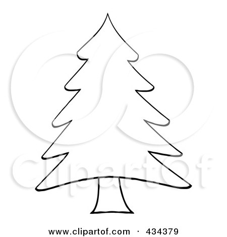 Royalty-Free (RF) Clipart of Pine Trees, Illustrations, Vector ...