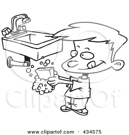 Hand Washing Posters & Hand Washing Art Prints #1