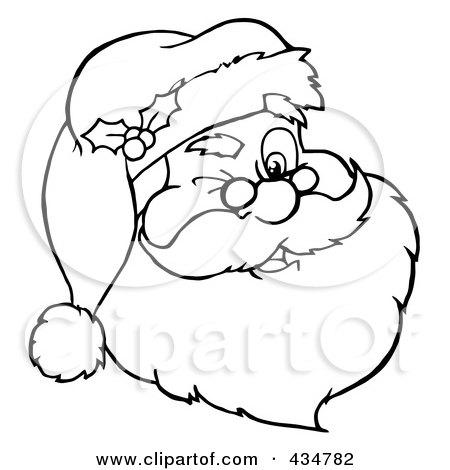RoyaltyFree RF Winking Santa