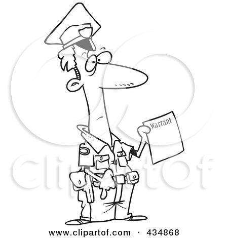 Royalty-Free (RF) Warrant Clipart, Illustrations, Vector ...