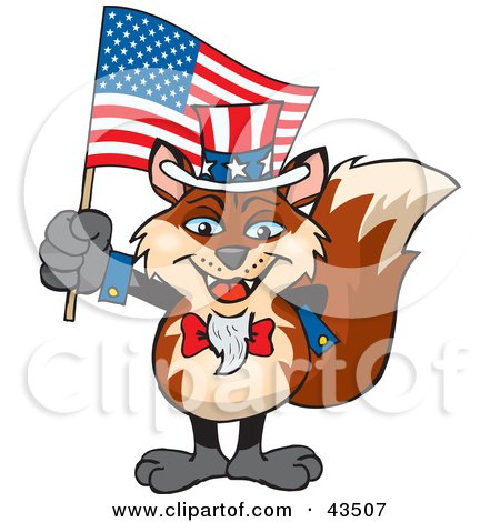 flag day clip art. Flag On Independence Day