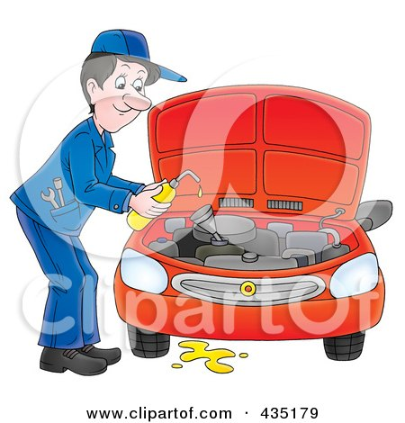 royalty free  rf  clipart illustration of a car mechanic motor mechanic clipart auto mechanic clipart free
