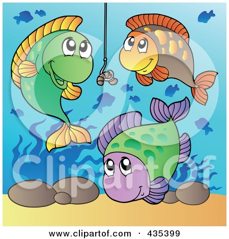 Royalty free rf worm on a hook clipart illustrations for Fishing worms near me