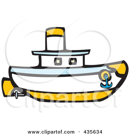 royalty free rf clipart illustration of a nautical boat by rh clipartof com
