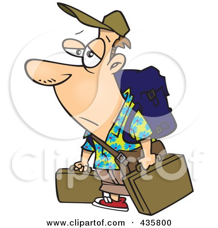 Royalty Free Rf Weary Traveler Clipart Illustrations