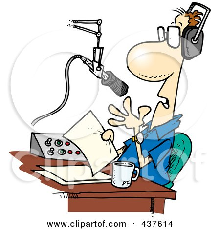 437614 Royalty Free RF Clip Art Illustration Of A Cartoon Talk Radio Host There's an adult zone at the game's official site, where players can get ...