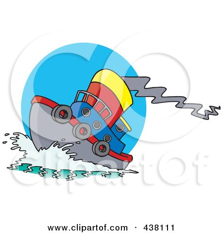Royalty free rf tugboat clipart illustrations vector for Free clipart animations