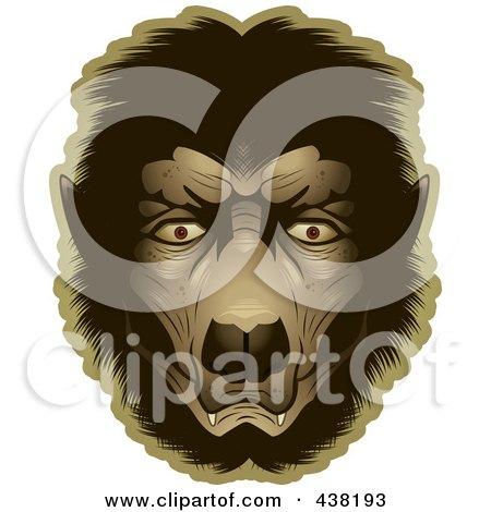 Werewolf Face Posters, Art Prints