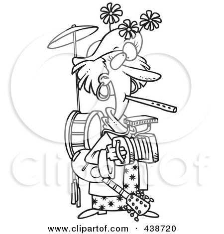 Royalty Free Rf Clipart Illustration Of A Metal And Orange