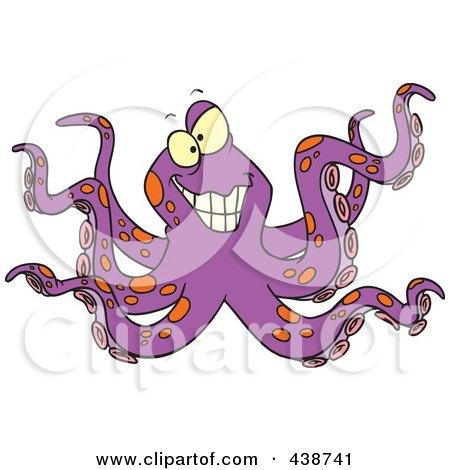 Evil octopus cartoon - photo#14