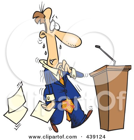 Cartoon Images Politicians Cartoon Nervous Politician