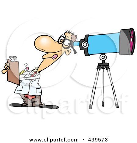 Royalty-Free (RF) Astronomer Clipart, Illustrations ...