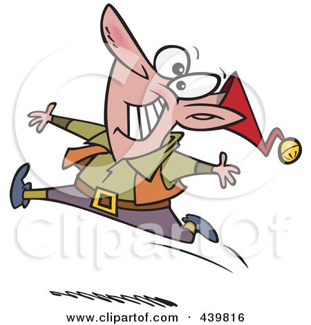 royalty free rf dancing elf clipart illustrations vector graphics 1 rh clipartof com