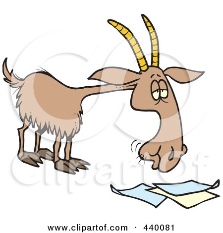 goat pictures cartoon