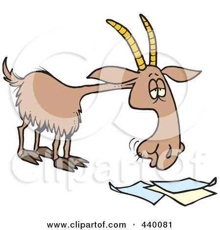 Royalty free rf goat clipart illustrations 1