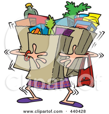 http://images.clipartof.com/small/440428-Cartoon-Woman-Carrying-Heavy-Grocery-Bags.jpg