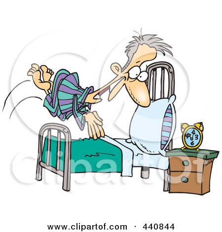 Royalty Free Rf Clipart Of Beds Illustrations Vector