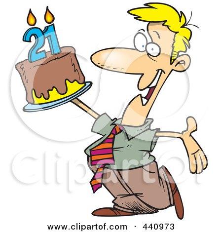 Royalty-Free (RF) 21st Birthday Clipart, Illustrations, Vector ...